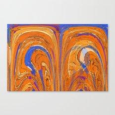 Double Vortex Canvas Print