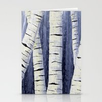 birch Stationery Cards featuring Birch by Sarah Yee