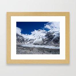 Everest Base Camp Framed Art Print