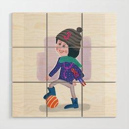 Birthday Girl 3 Wood Wall Art