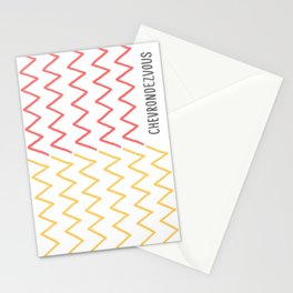 Chevrondezvous Stationery Cards
