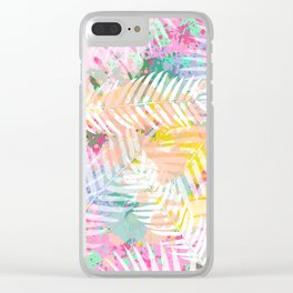 Tropical Juice 2 Clear iPhone Case