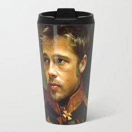 Brad Pitt - replaceface Travel Mug