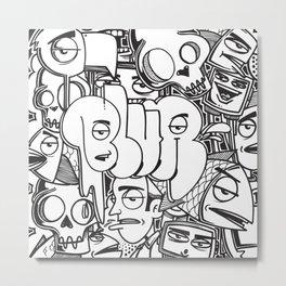 Blur Design Series 1 Metal Print