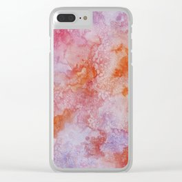 strange visions 9 Clear iPhone Case