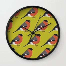 Bullfinc Wall Clock