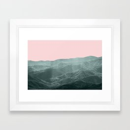 Smoky Mountain Summer Framed Art Print