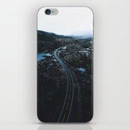 Norway Road iPhone Skin