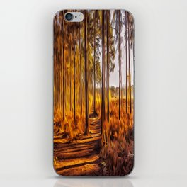 My World Your World iPhone Skin