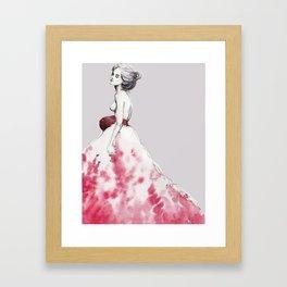Fashion Illustrasion Framed Art Print