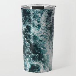 Green Seas, Yes Please Travel Mug