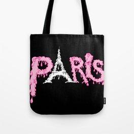 Paris is melting.... Tote Bag