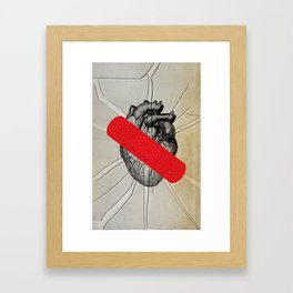 Color Chaos Collection -- First Aid Framed Art Print