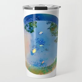 """The World in a Bowl """"Coppers"""" Travel Mug"""