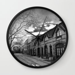 STOP For Brooklyn Heights Brownstone Love NYC Wall Clock