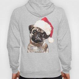 Christmas Pug Hoody