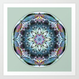 Mandalas from the Heart of Truth 2 Art Print