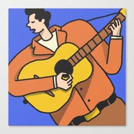Mr. Tambourine Man Canvas Print