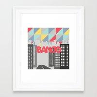 banjo Framed Art Prints featuring Banjo by Nezz