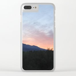 Daybreak In Tucson Clear iPhone Case