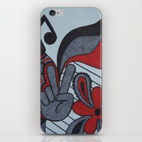 60s iPhone & iPod Skins featuring 60s Vibe by Tanya Thomas