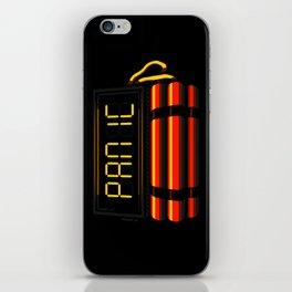 PANIC iPhone Skin