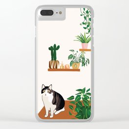 Plant Stop Won't Stop Clear iPhone Case