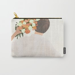 Floral Gift Carry-All Pouch