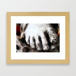 Cold Feet in Montparnasse Framed Art Print