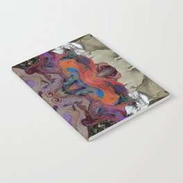 Marbled Mountains 001 Notebook