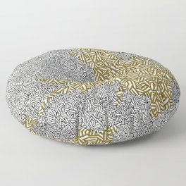 The Gold Scourge Spreads Floor Pillow