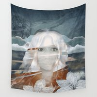 anna Wall Tapestries featuring ANNA by CABINET