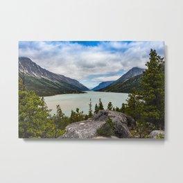 Bennett Lake Metal Print