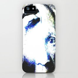 P the CASSO «the body in the middle» iPhone Case
