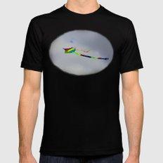 Controlled Flight - Kite 7484 Mens Fitted Tee MEDIUM Black