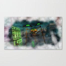 War of the Worlds Part 1 Canvas Print