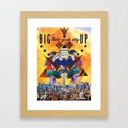 BIG APPLE CITY  Framed Art Print