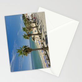 Olhos d'Agua promenade, Portugal Stationery Cards