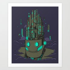 City Top Art Print