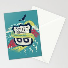 Get your kicks on Stationery Cards