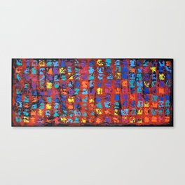 Abstract - The Truth in the Ashes Canvas Print
