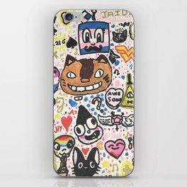 Pop Swag iPhone Skin