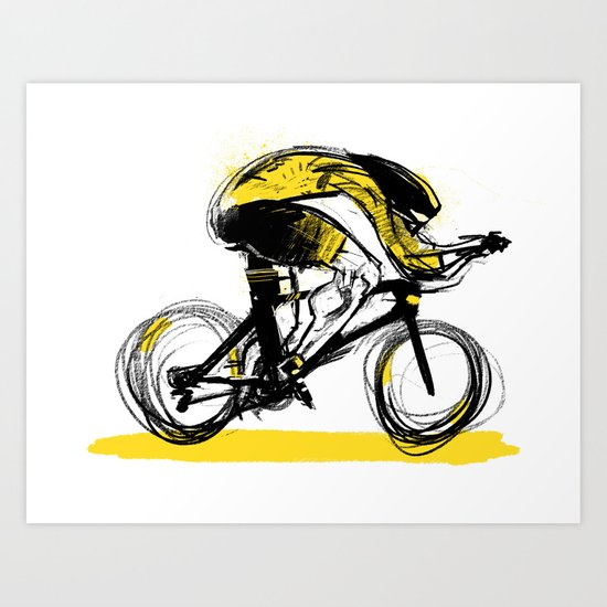 The Time Trial Art Print