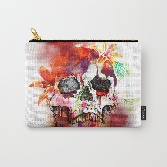 SKULL III Carry-All Pouch