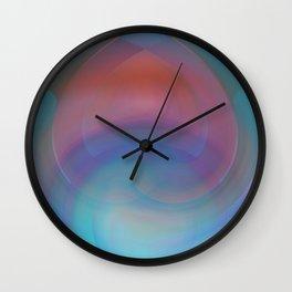 Retro Nouveau Wall Clock