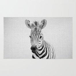 Baby Zebra - Black & White Rug