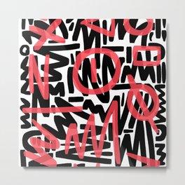 Graffiti 001 Metal Print