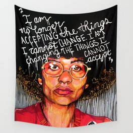 Angela Davis Wall Tapestry