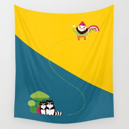 The Angry Gnome Wall Tapestry