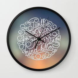 Always remember the Litany Wall Clock